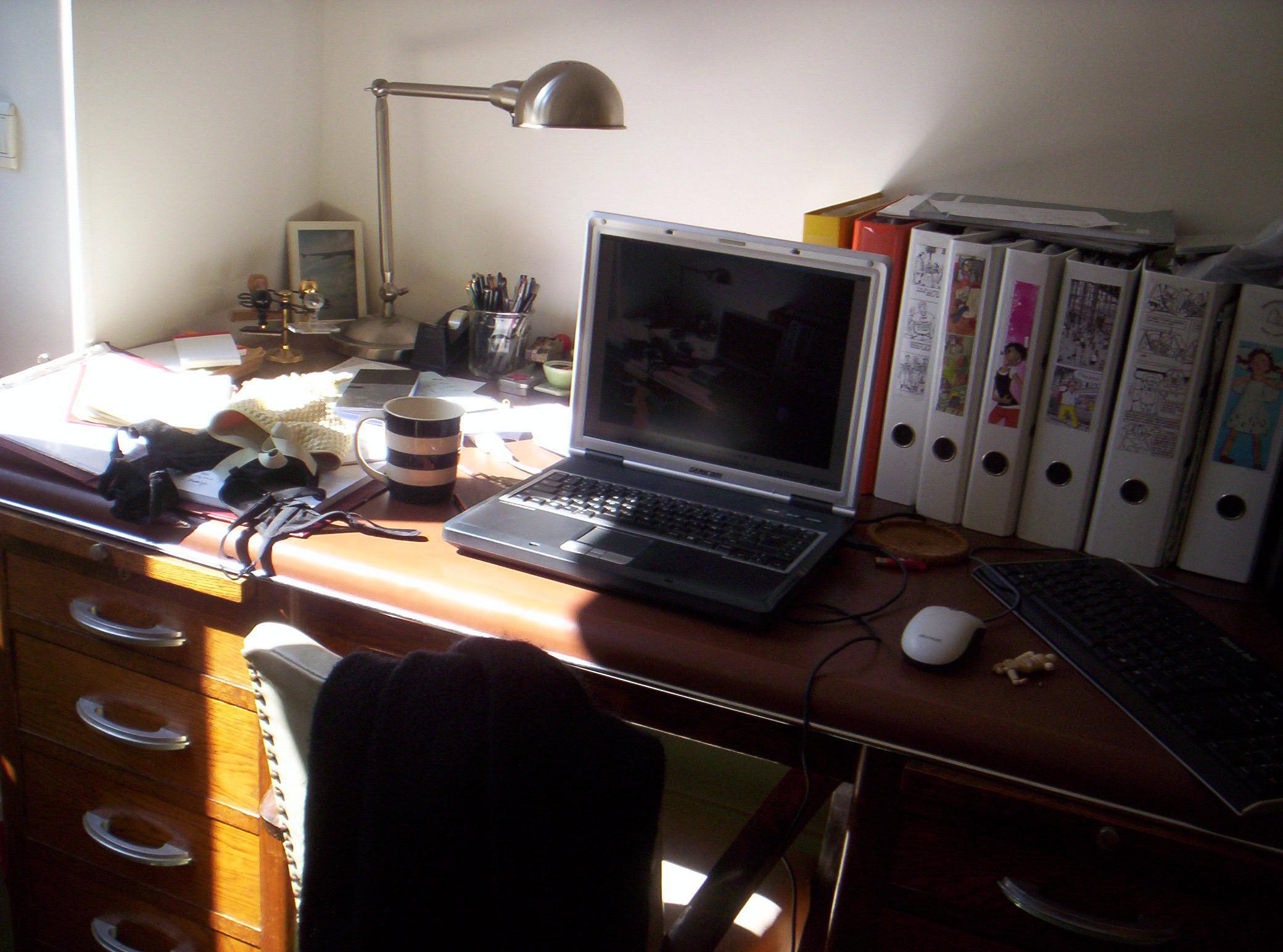 Inspiration déco un bureau bordélique